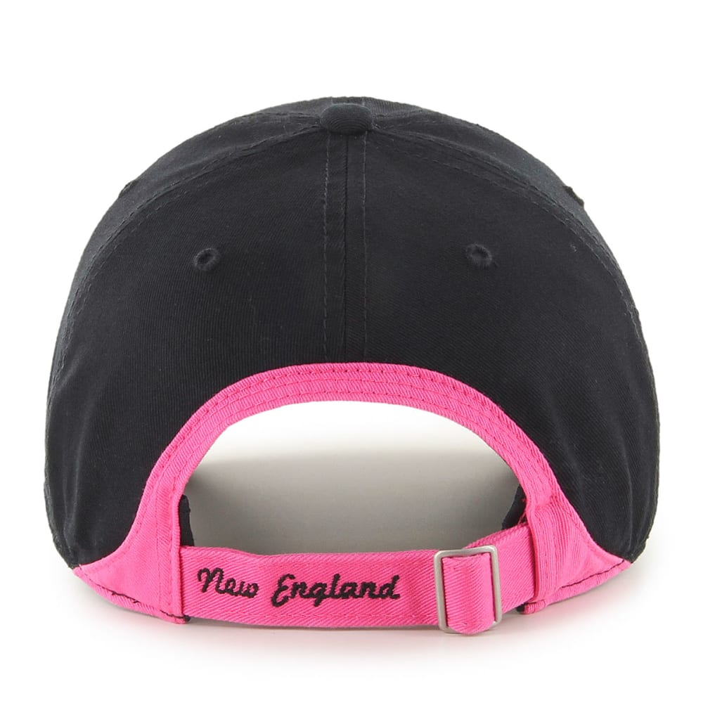 NEW ENGLAND PATRIOTS Women's Skyler Clean Up Adjustable Cap - BLACK/PINK