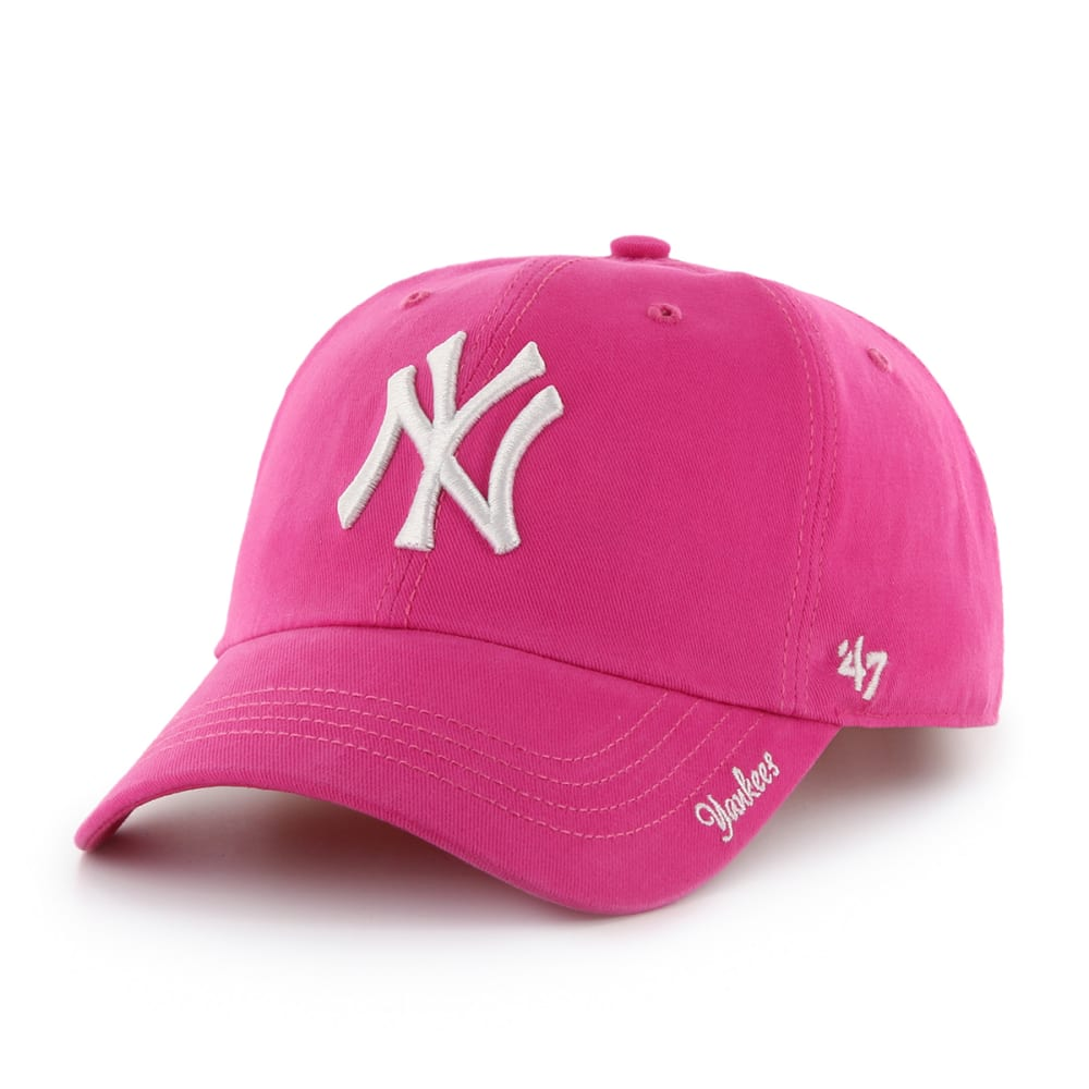 NEW YORK YANKEES Women's '47 Miata Adjustable Cap - PINK