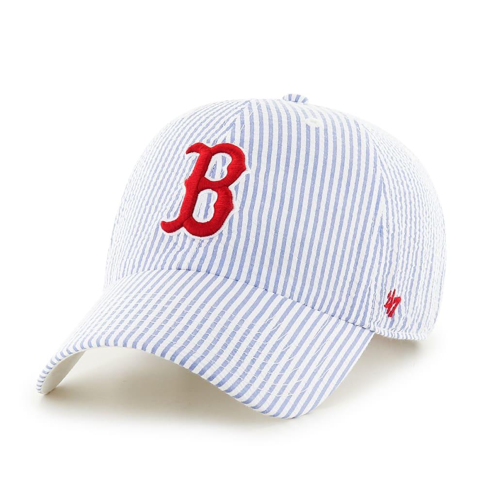 BOSTON RED SOX Women's Sail Loft Cap - WHITE/NAVY