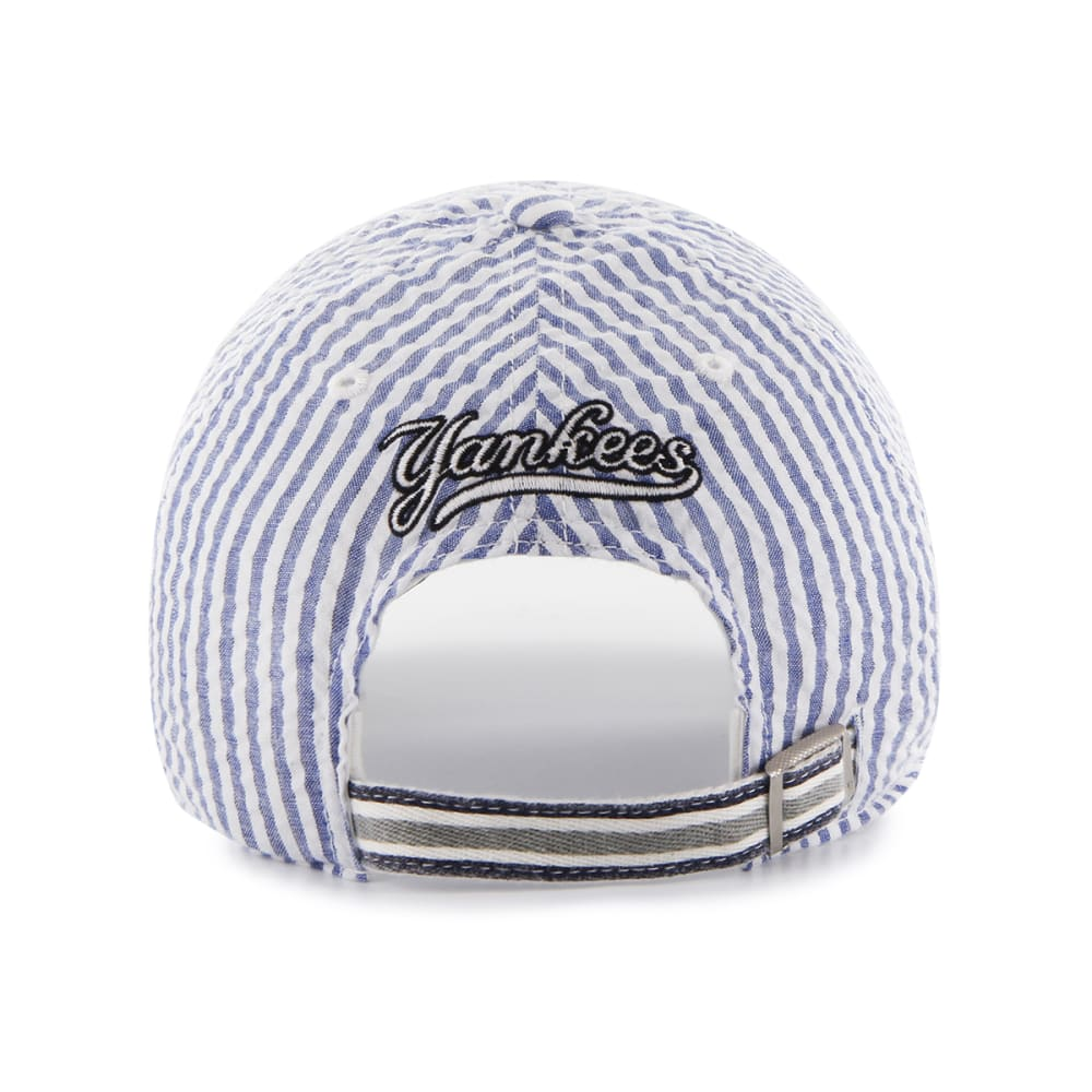 NEW YORK YANKEES Women's Sail Loft Cap - WHITE/NAVY