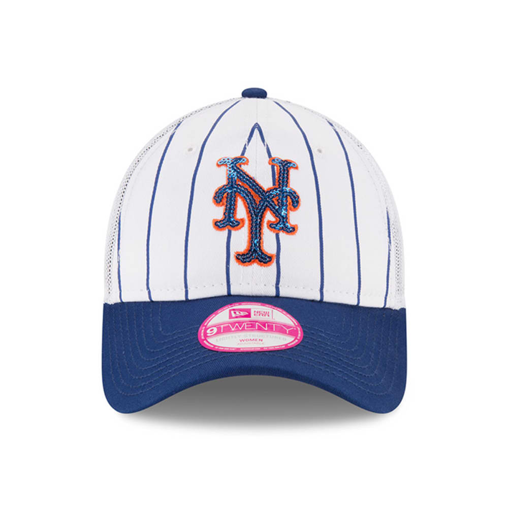 NEW YORK METS Women's Truck Lust Pinstripe Adjustable Cap - METS