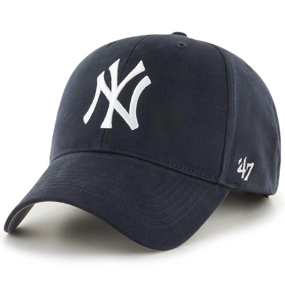 NEW YORK YANKEES Kids' Basic Hat - NAVY