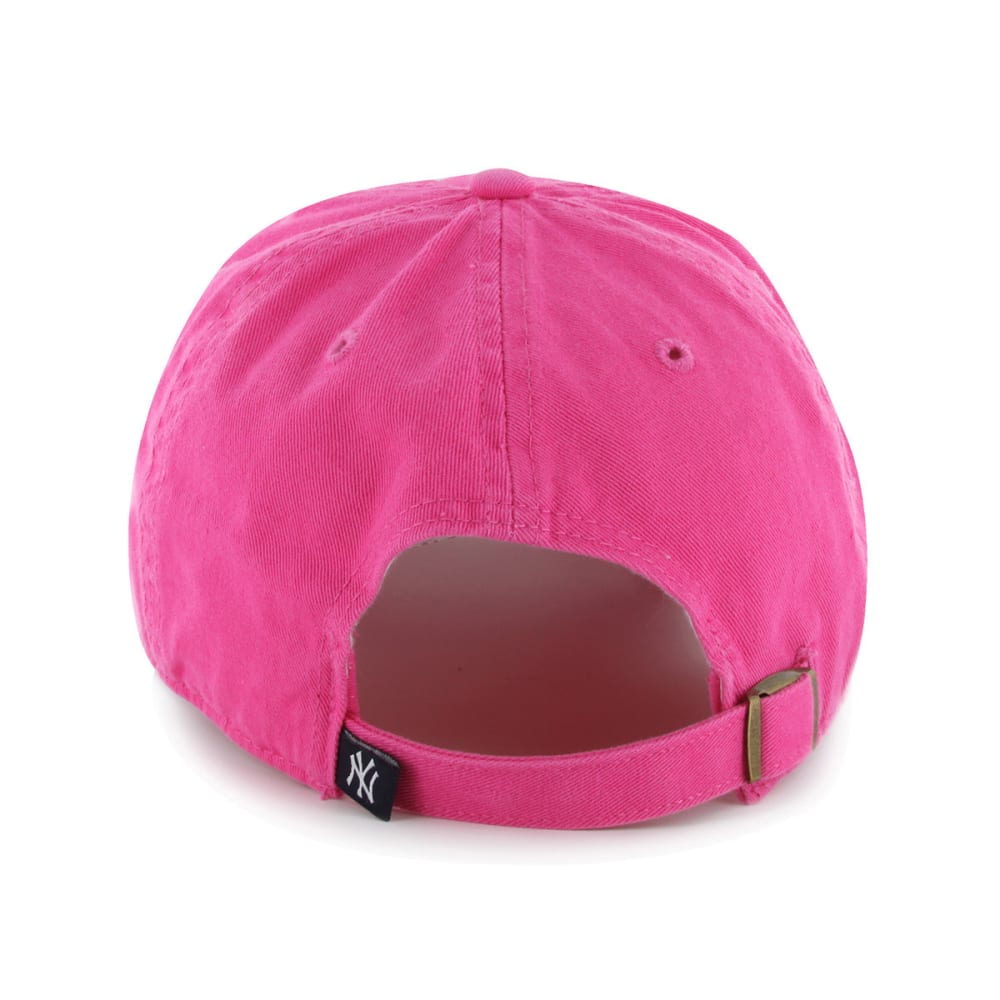NEW YORK YANKEES Girls' Clean Up Adjustable Cap - PINK