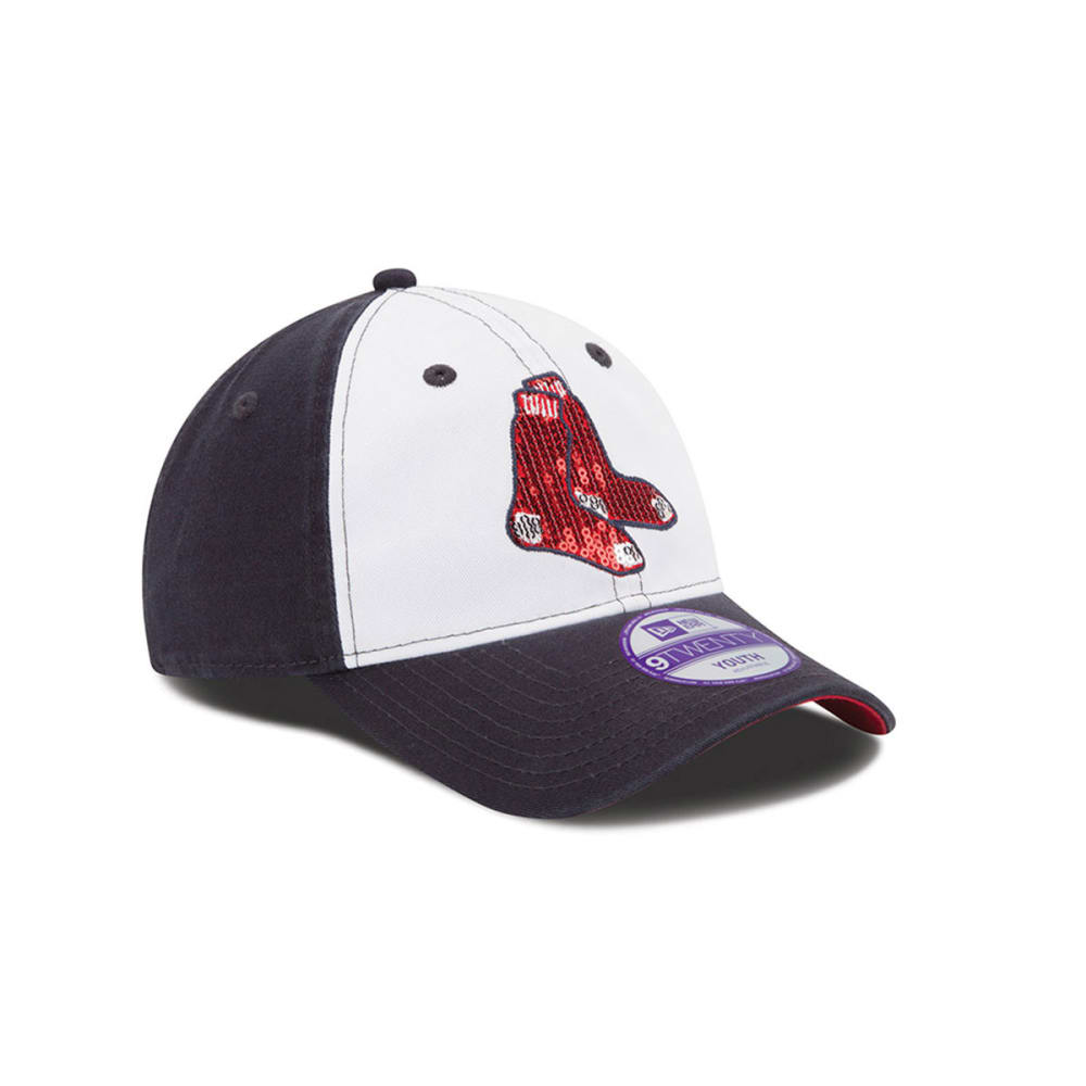 BOSTON RED SOX Kids' Glimmer Hat - NAVY