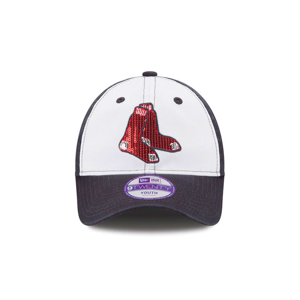 BOSTON RED SOX Kids' Glimmer Hat - NAVY