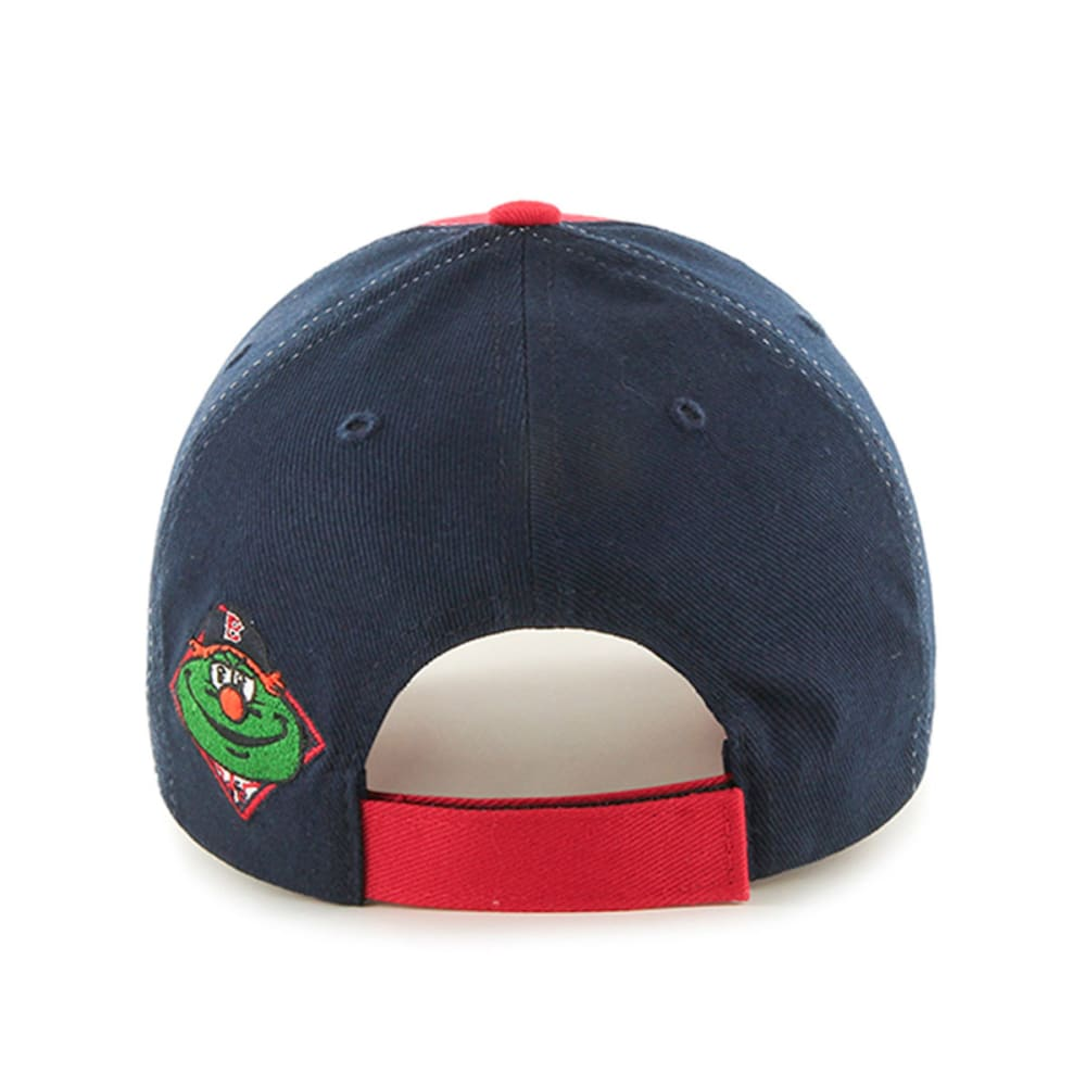 BOSTON RED SOX Kids' Hambone Wally Hat - NAVY/RED