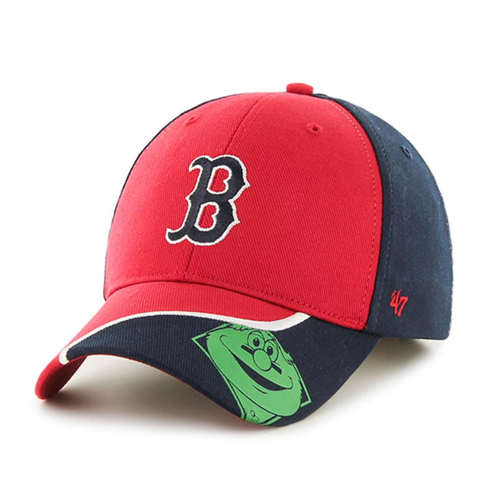 BOSTON RED SOX Kids' '47 Hambone Wally Hat - NAVY/RED