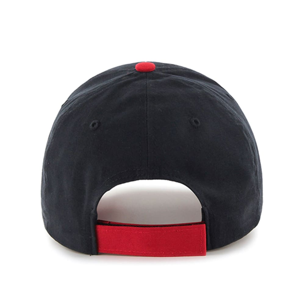 BOSTON RED SOX Kids' Short Stack Hat - NAVY/RED
