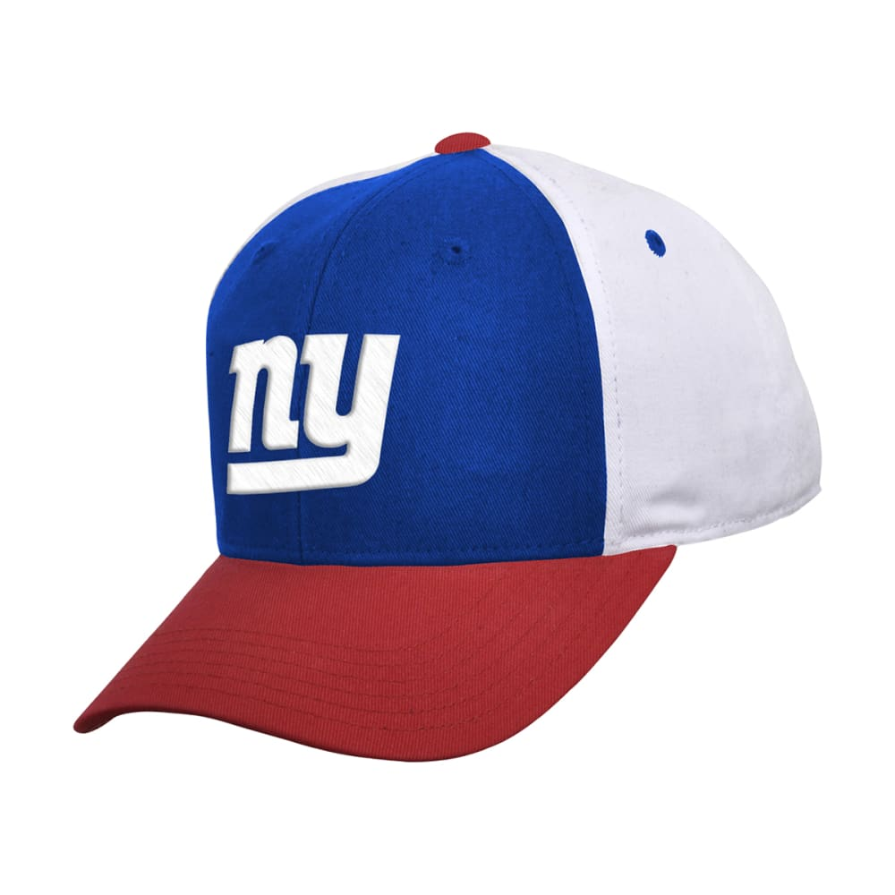 NEW YORK GIANTS Kids' Color Block Adjustable Cap - ASSORTED