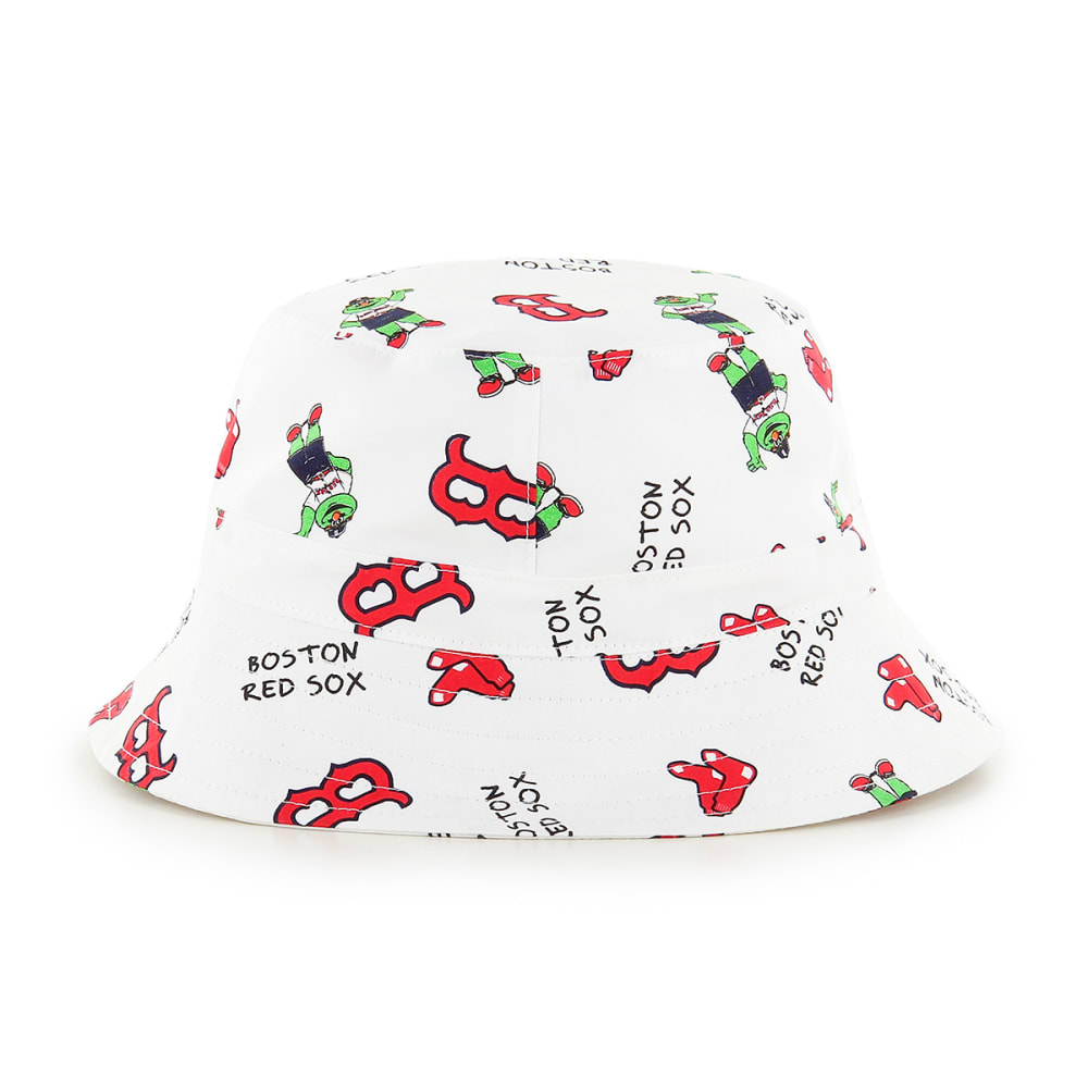 BOSTON RED SOX Toddler '47 Bucket Hat - WHITE