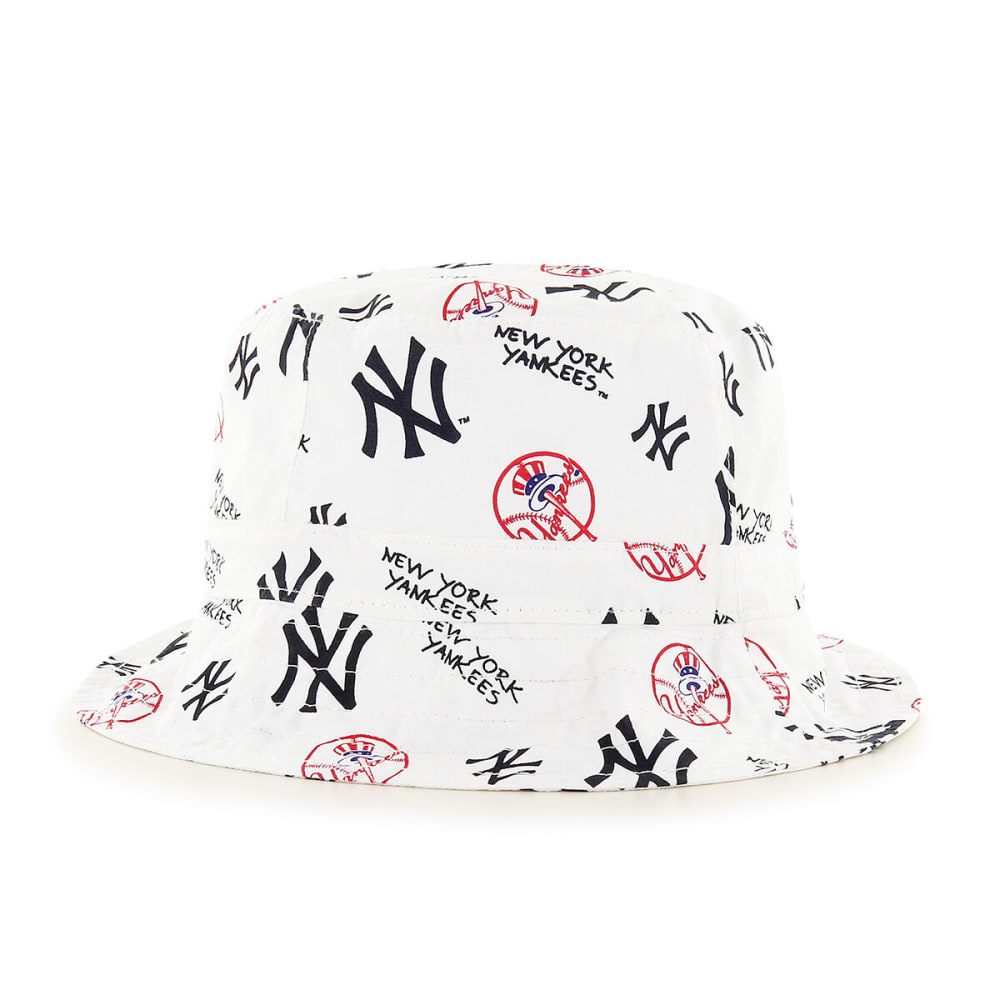 NEW YORK YANKEES Toddler Baby '47 Bucket Hat - WHITE