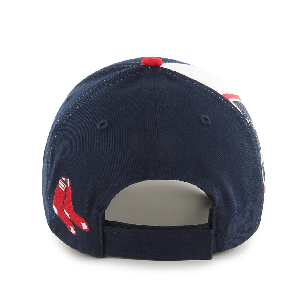 BOSTON RED SOX Kids' '47 Scorecard Adjustable Cap - NAVY