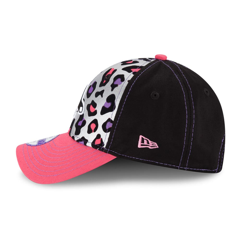 BOSTON RED SOX Girls' Cheetah Chic Adjustable Cap - RED SOX