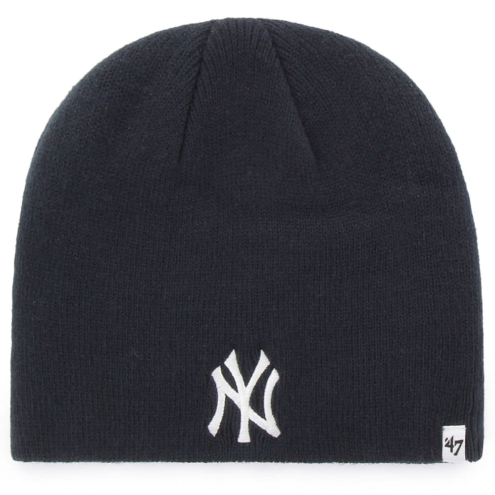 NEW YORK YANKEES Basic Navy Beanie - NAVY