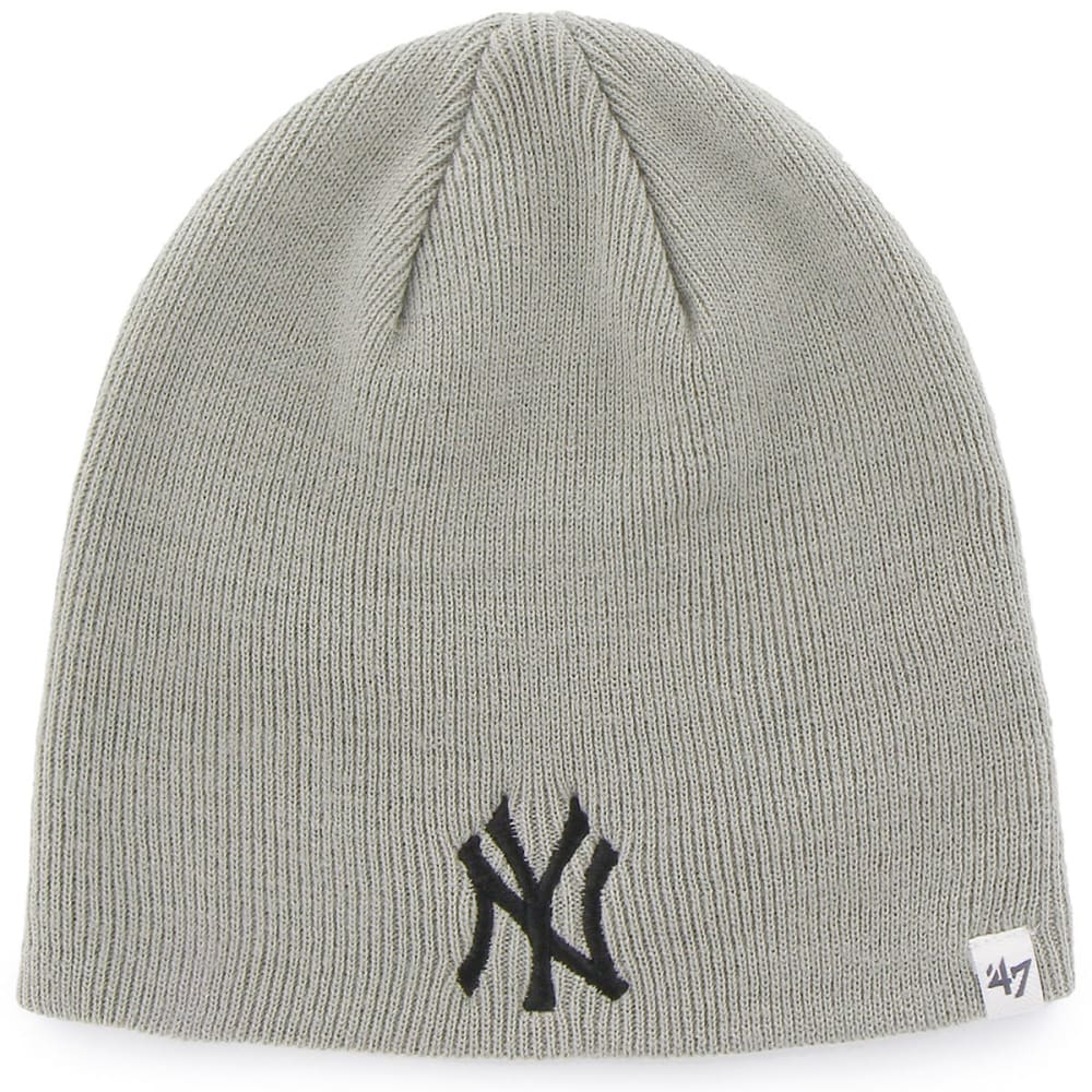 NEW YORK YANKEES Basic Grey Beanie  - GREY