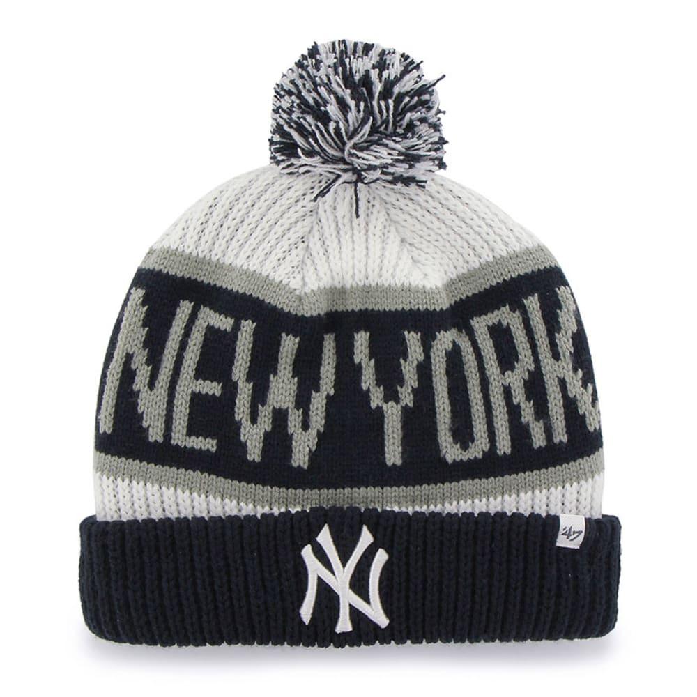 NEW YORK YANKEES Calgary Cuff Knit Hat - ASSORTED