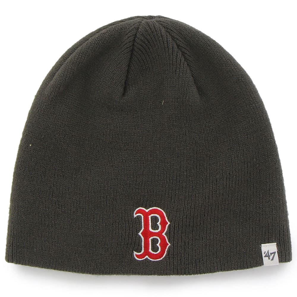 BOSTON RED SOX Basic Charcoal Beanie  - CHARCOAL