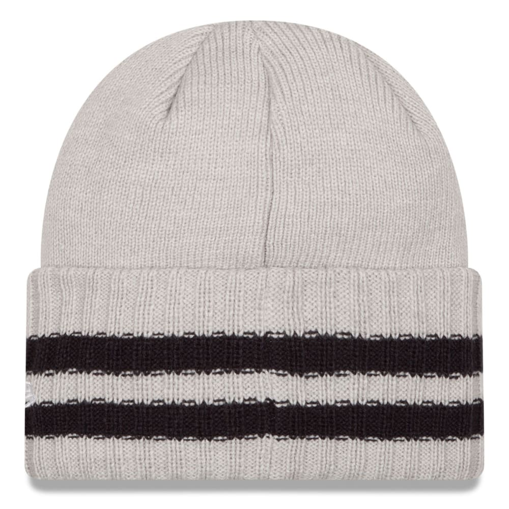 BOSTON RED SOX Men's 2 Striped Cuff Knit Beanie - GREY