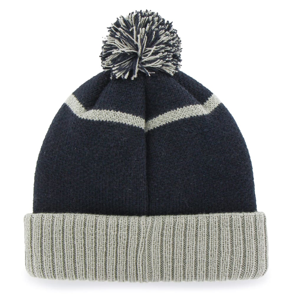 NEW YORK YANKEES Linesman Pom Beanie - NAVY
