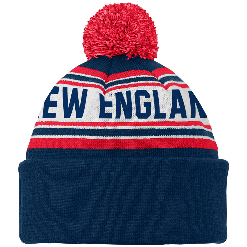 NEW ENGLAND PATRIOTS Youth Pom Beanie - PATRIOTS
