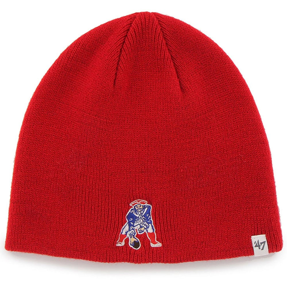 NEW ENGLAND PATRIOTS Pat the Patriot Red Beanie - RED