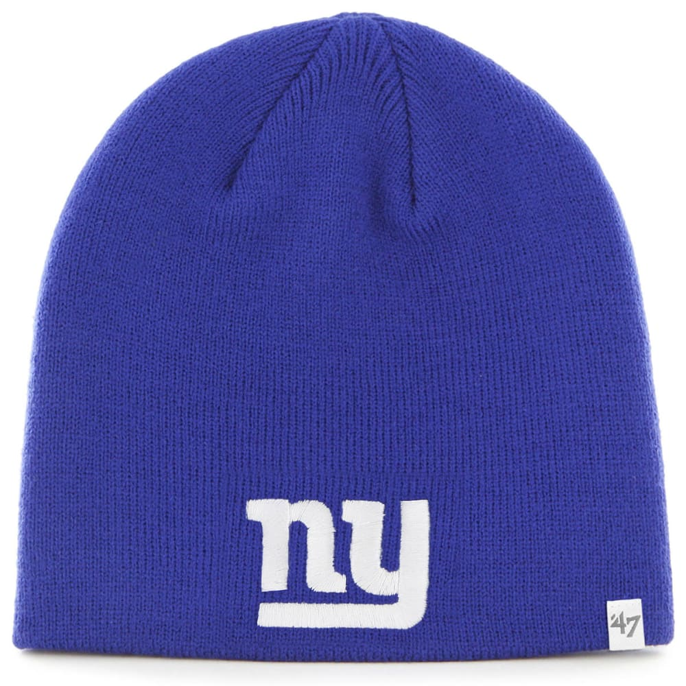 NEW YORK GIANTS Basic Royal Beanie - ROYAL BLUE