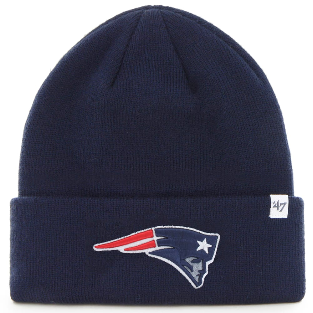 New England Patriots '47 Cuffed Beanie - White, 1 SIZE