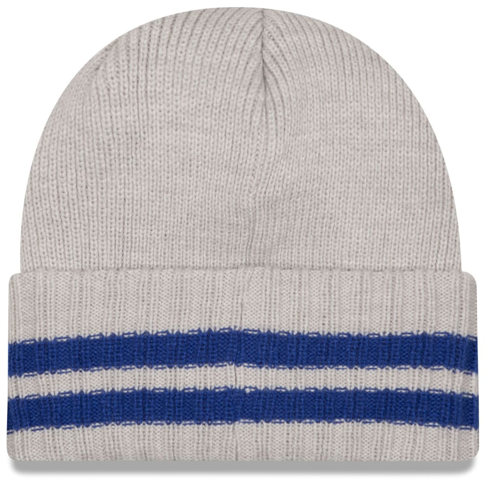 NEW YORK GIANTS Men's 2 Striped Cuff Knit Beanie - MULTI