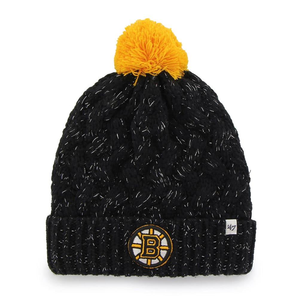 BOSTON BRUINS Women's Fiona Cuff Knit Hat - ASSORTED