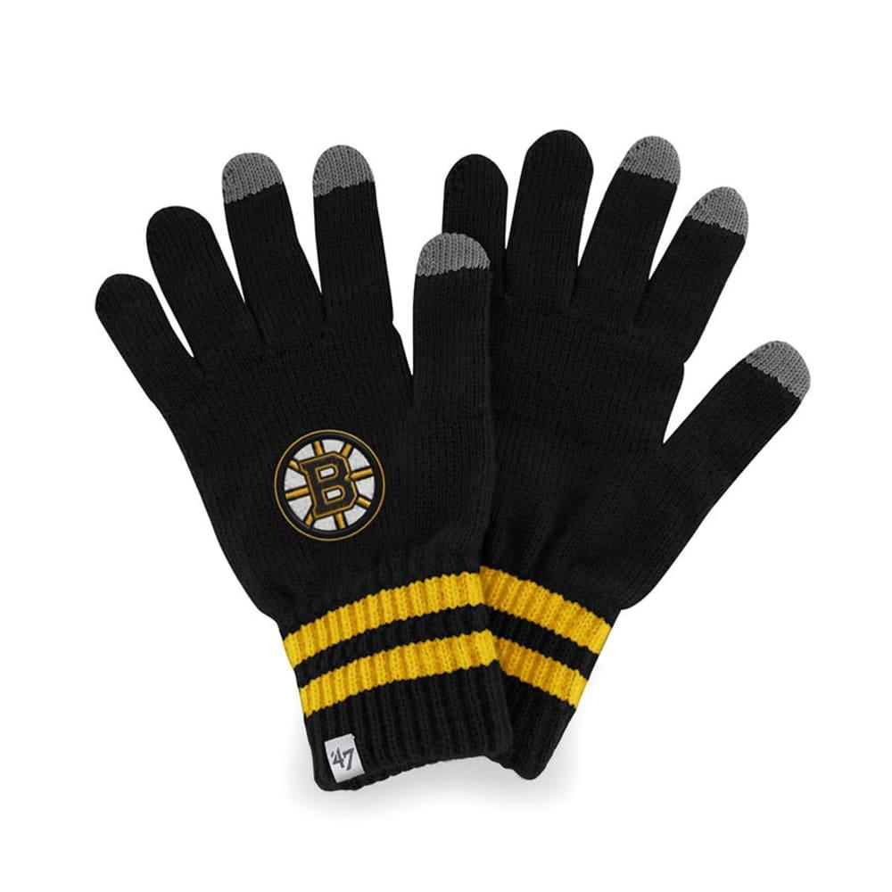 BOSTON BRUINS Team Player Touch Gloves - BLACK