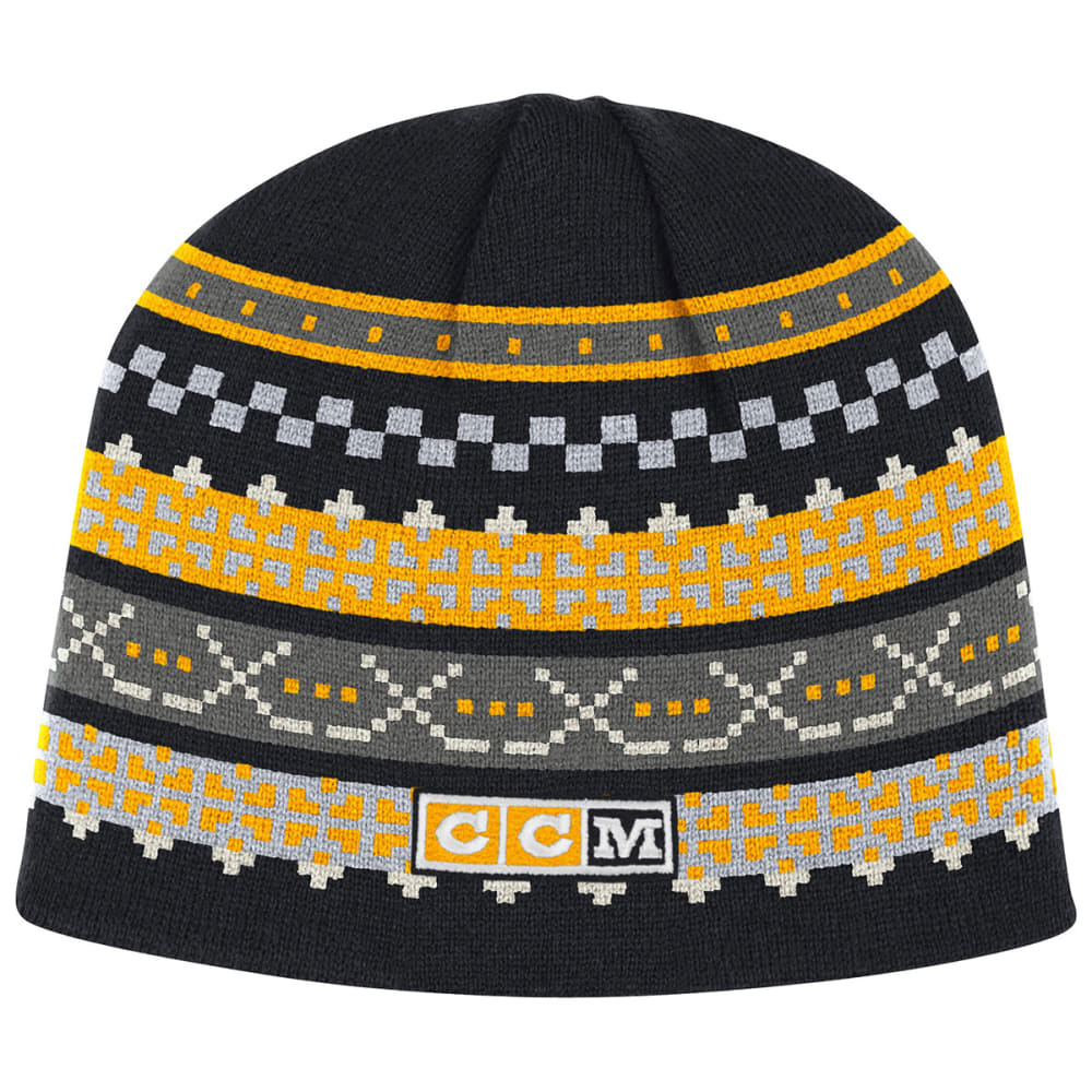 BOSTON BRUINS CCM Hockey Stick Beanie - BRUINS