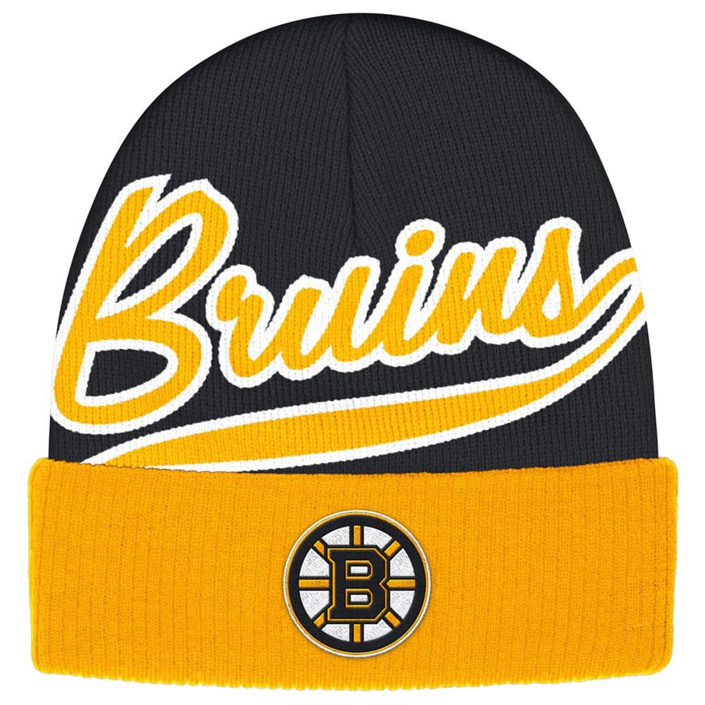 BOSTON BRUINS Cuffed Beanie - STEALTH GREY/GRAPHIT