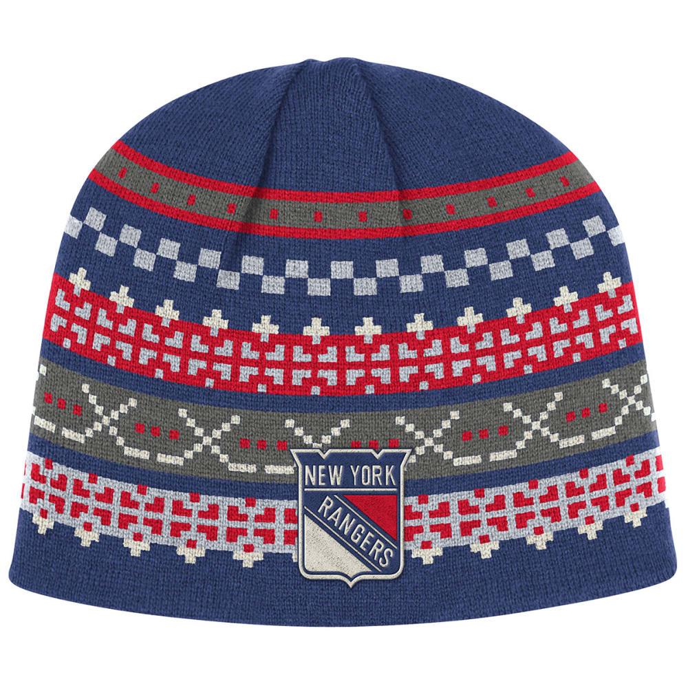 NEW YORK RANGERS CCM Hockey Stick Beanie - RANGERS