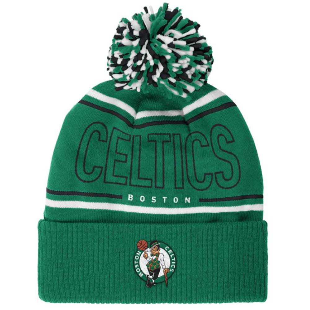 BOSTON CELTICS Men's Energy Stripe Knit Hat - CELTICS