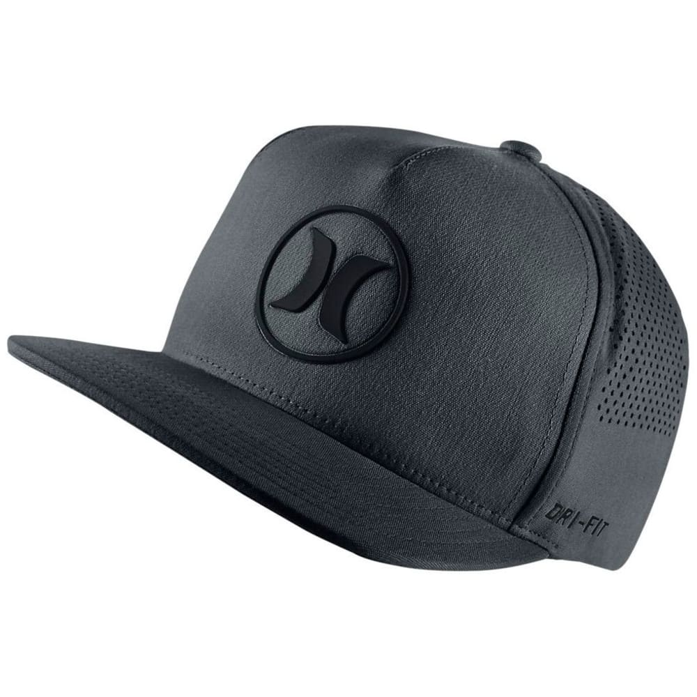 HURLEY Guys' Dri-Fit Icon 2.0 Cap - BLACK