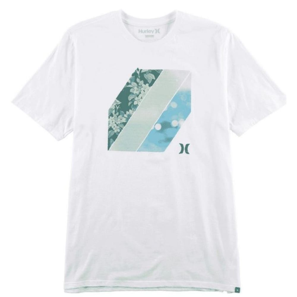 HURLEY Men's Key Tee - WHITE