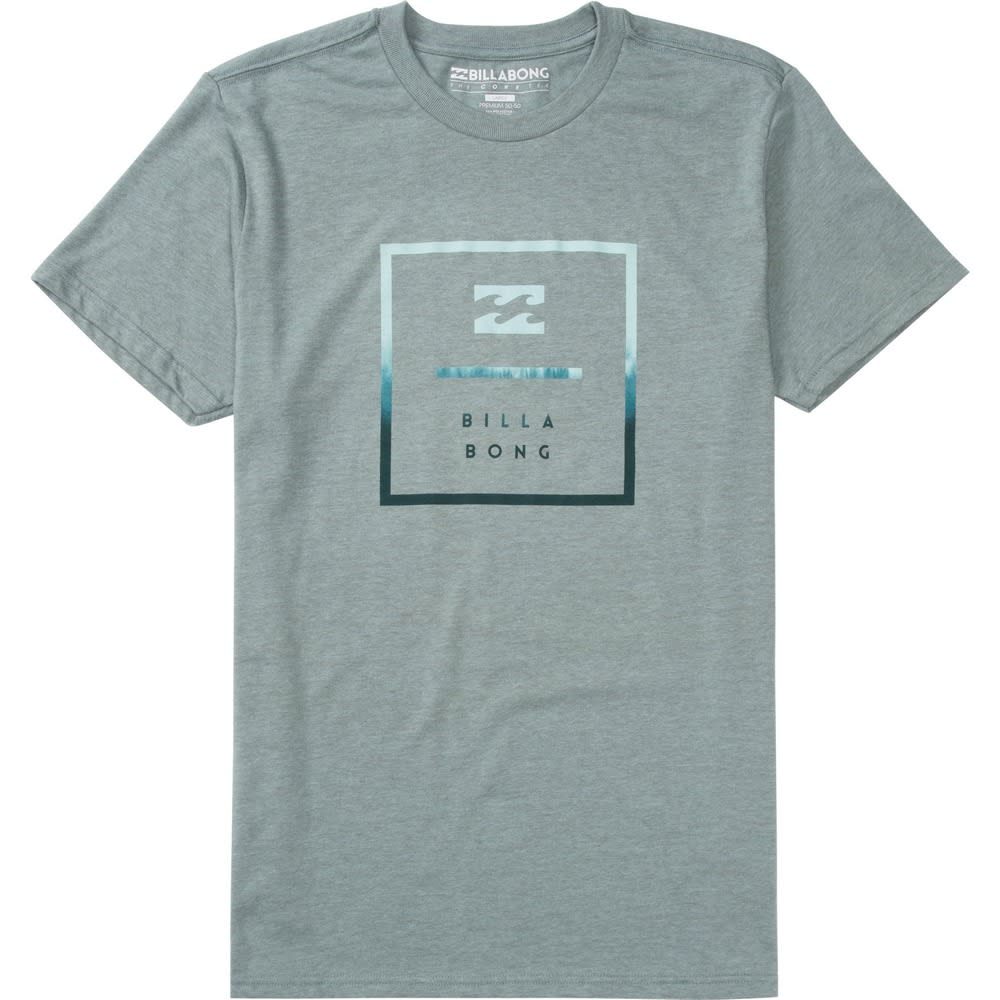 BILLABONG Men's Quad Tee - GRAY