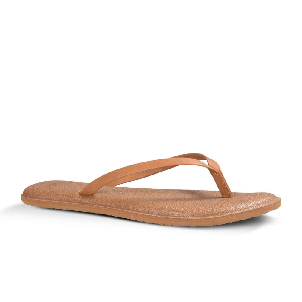 SANUK Women's Yoga Bliss Sandals - TAN