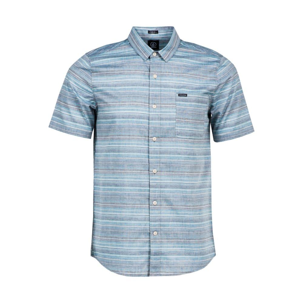 VOLCOLM Men's Ledfield Shirt - NAVY