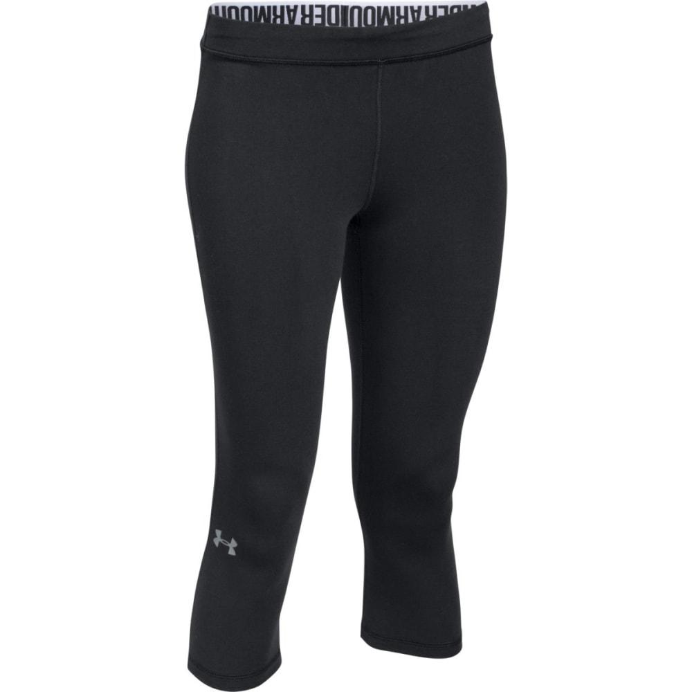 UNDER ARMOUR Women's Favorite Solid Capri Pants - BLACK-001