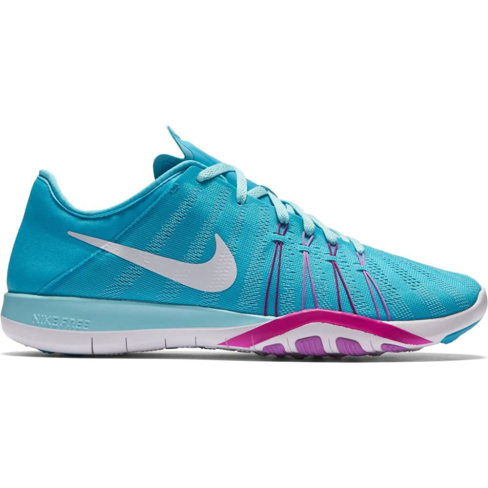 NIKE Women's Free TR 6 Training Shoes - GAMMA BLUE/VIOLET