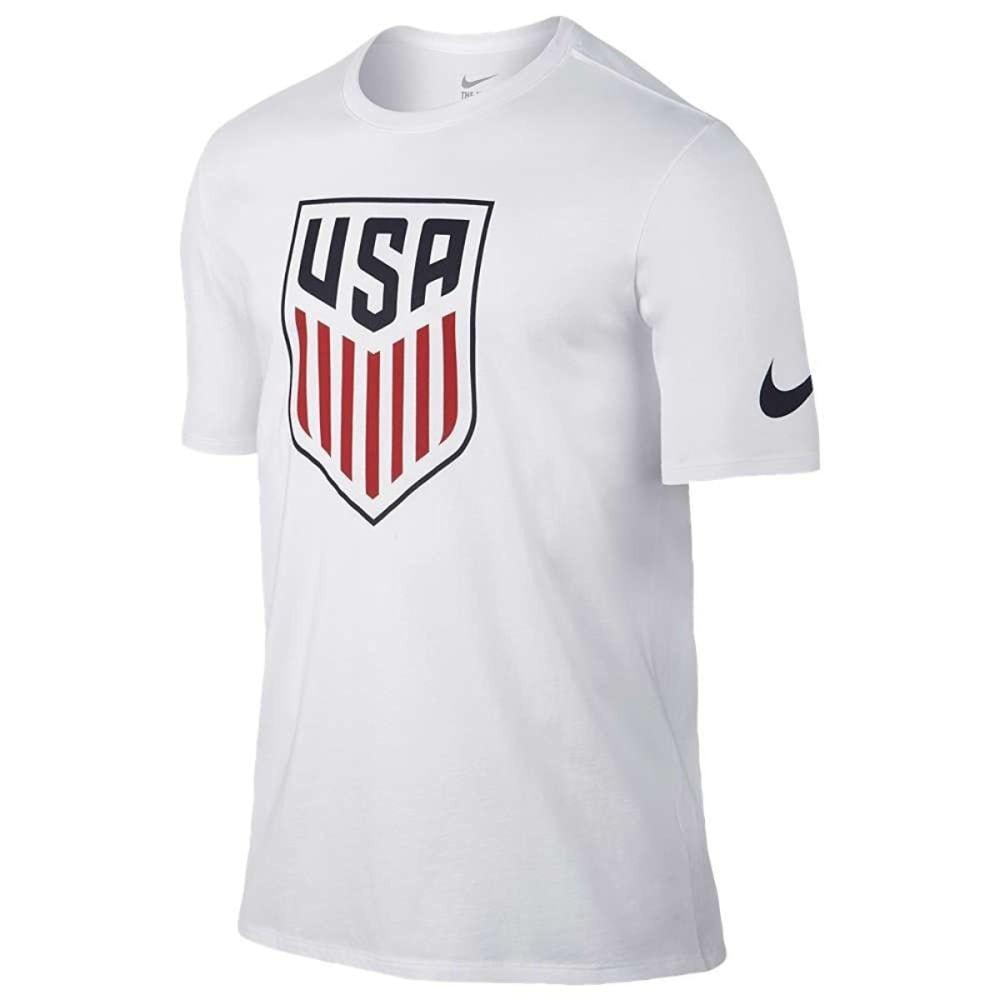 NIKE Men's USA Soccer Crest Tee - WHITE-100