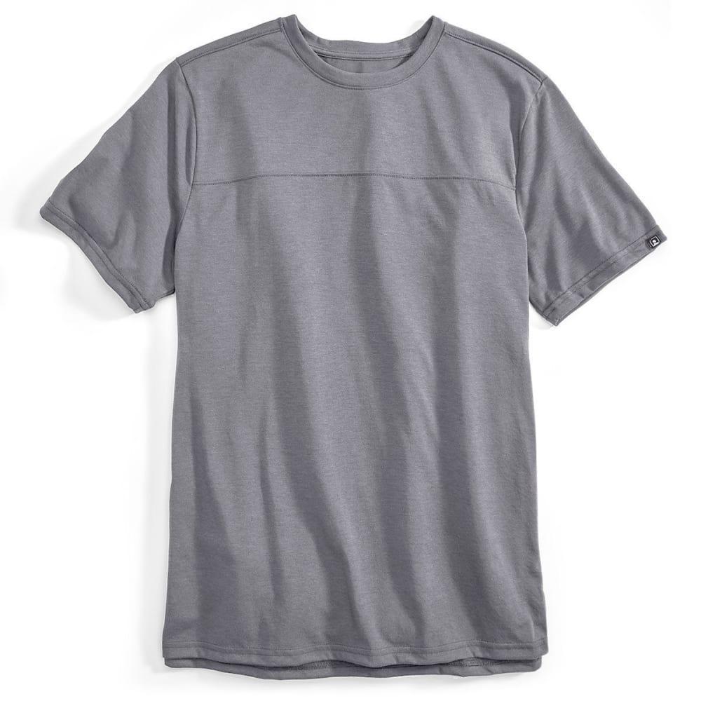 EMS® Men's Techwick® Vital Short-Sleeve Travel Tee  - GRAY HEATHER