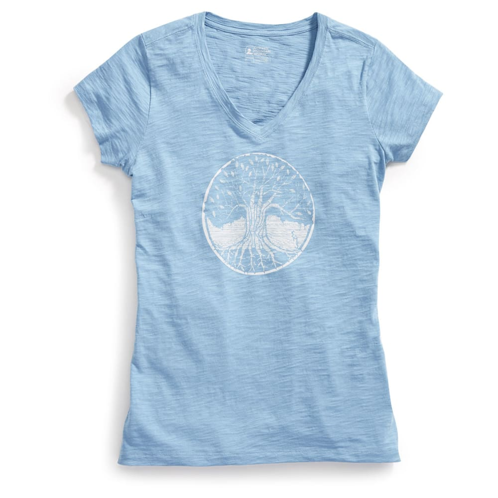 Ems(R) Women's Forest From The Trees Graphic Tee - Blue, L
