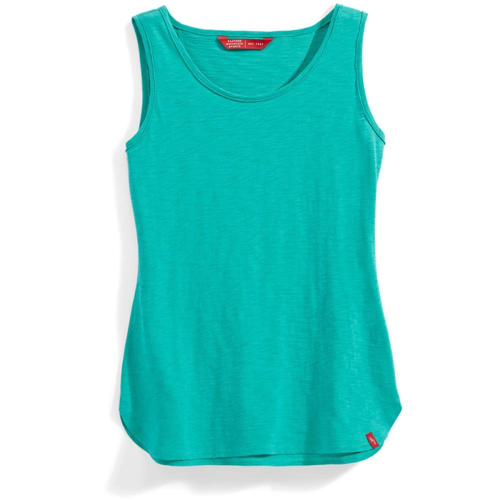 Ems(R) Women's Solid Slub Tank - Green, L