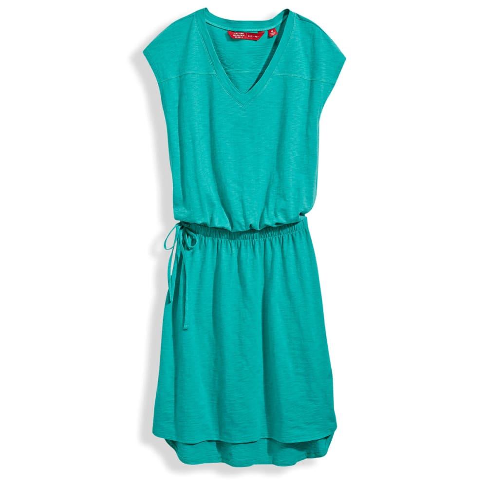 EMS® V-Neck T-Shirt Dress - SEA GREEN