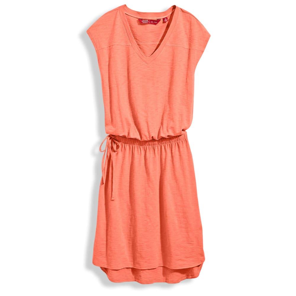 EMS® V-Neck T-Shirt Dress - CAMELIA