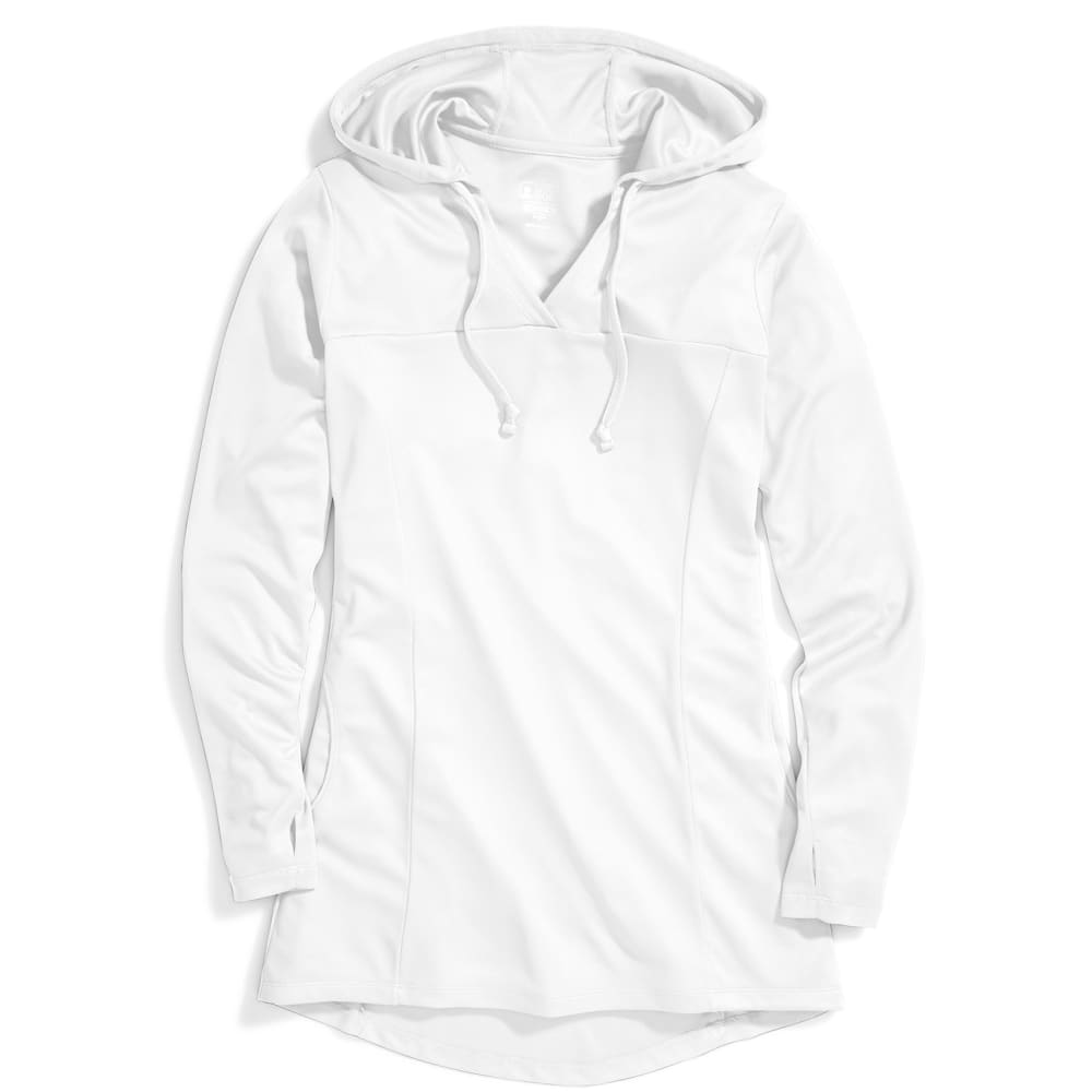 EMS Women's Techwick Hydro Hooded Tunic - WHITE
