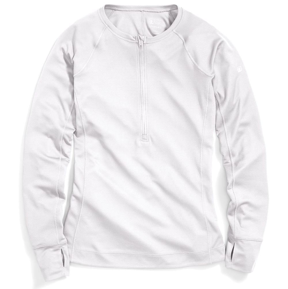 EMS® Women's Techwick® Hydro  ½ Zip Pullover - BRIGHT WHITE