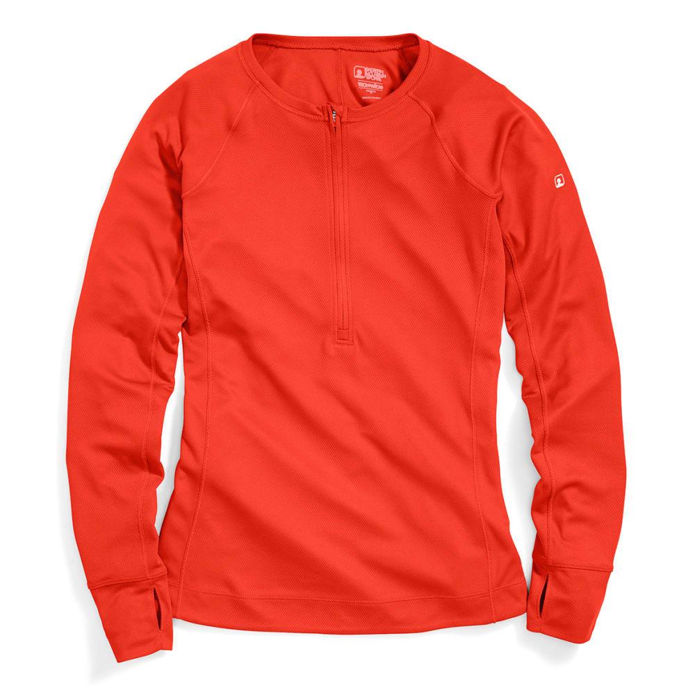 EMS® Women's Techwick® Hydro  ½ Zip Pullover - ORANGE